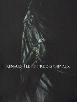 renaud-hadef-artiste-equin-FRISON-Huile sur toile 120x70cm