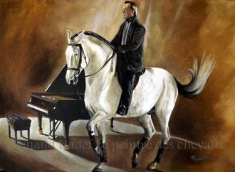 renaud-hadef-artiste-equin-BERNARD SACHSES-huile sur toile 120x80cm