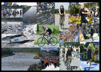 Impressionen eines meiner Ironman-Triathlons