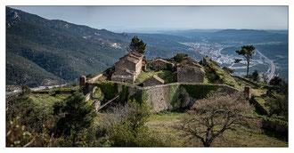 Daniel : Casernement du fort de Bellagarde