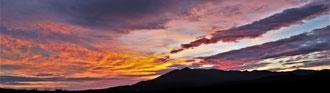 Ian : L'aube au dessus le massif des Albères