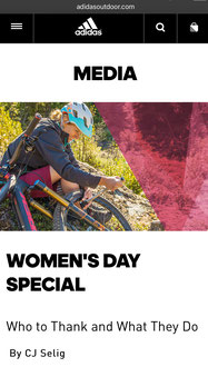 FiveTen http://www.adidasoutdoor.com/on/demandware.store/Sites-AO-Site/default/Life-Adventure?cid=fiveten-international-womens-day