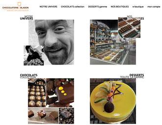 Site Chocolaterie du Blason