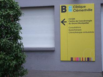 panneau directionnel CCGM