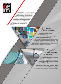 Plaquette pochette CEM/carrelage/isolation/chape fluide