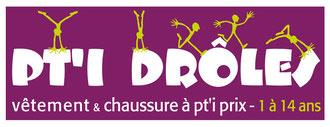 Création logo boutique enfants