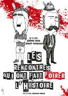 Affiche Théâtre La Chocolaterie