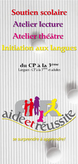 flyer association soutien scolaire