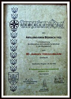 80 Jahre AVB 1922