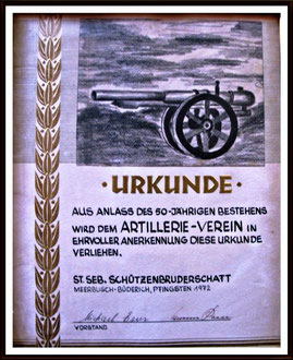 50 Jahre AVB 1922
