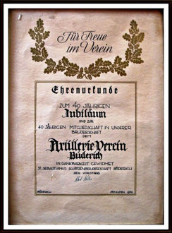 40 Jahre AVB 1922