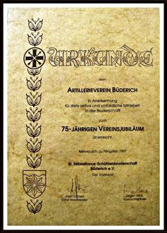 75 Jahre AVB 1922