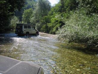Das war der Weg zu unserer Unterkunft, Rumänien 2007