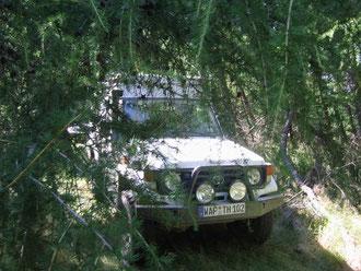 Tarnen ist alles, Rumänien 2007