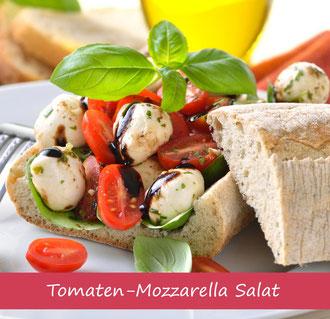 Rezept für Tomate Mozzarella Salat