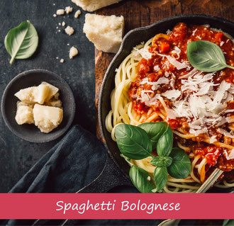 Rezept Rezeptidee Spaghetti Bolognese