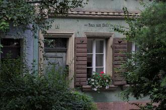 Fassade in der Gerberau