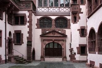 Innenhof des Neuen Rathauses