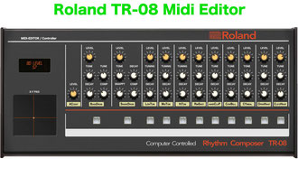 Roland SH-01A Midi Controller / Editor -VST - Roland SH-01A