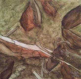 o.T. :: 2015 :: Naturpigmente und Eitempera auf Karton :: 21 x 21 cm