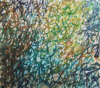 o.T. :: 2013 :: Acryl auf Papier :: 20 x 18 cm