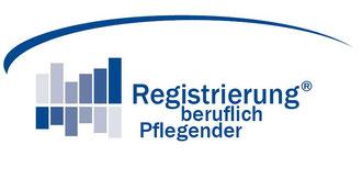 Registrierung beruflich Pflegender