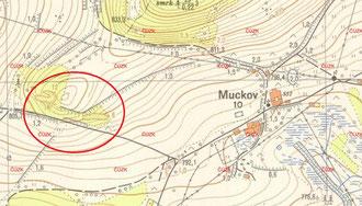 Eine kartografische Darstellung der Abbaubereiche ist selten. Die staatlichen Karten S-1952 (1:10.000) stellen die Kalkbrüche am besten dar.