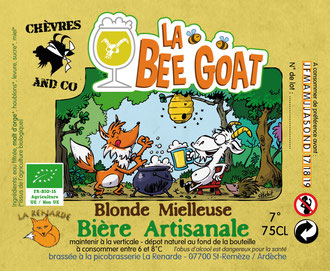 Bière Bee Goat Chèvres and Co
