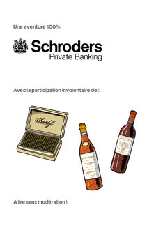 BD évènementielle _ Verane Events / Schroders Private Banking