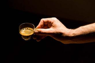 Der fertige Bio - Gerstenkaffee / Gerste - Italien