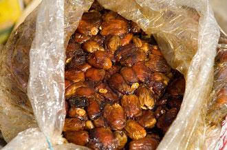 Sortieren und Verpacken der Früchte / Datteln - Ägypten