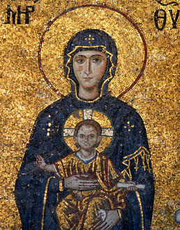 Mosaik in Hagia Sophia