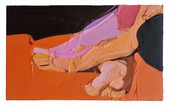 JIAO, 2019, Öl auf Leinwand, 45 x 80 cm