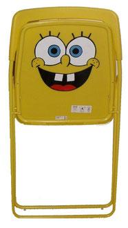 Spongebob-Stuhl, in aufrechter Position