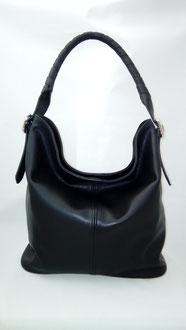 maroquinerie française, sac à main noir artisanal, luxe, sac fabrication française, sac haut de gamme, made in France, sac fait main
