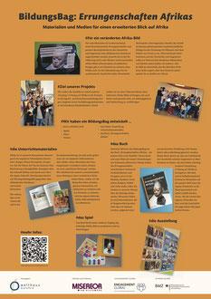 Poster 07 - BildungsBag: Errungenschaften Afrikas