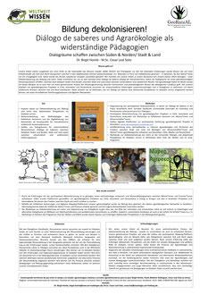 Poster 24 - Bildung dekolonialisieren