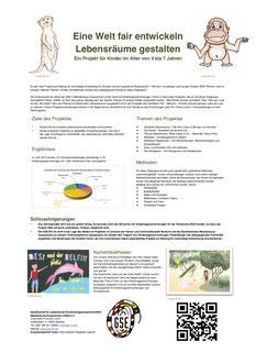 Poster 17 - Eine Welt fair entwickeln - Lebensräume gestalten