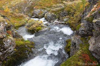 Fluss Øyna am Bjørgavegen