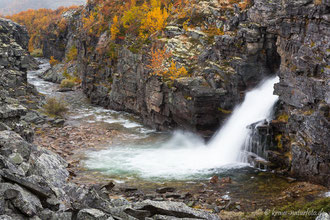 Wasserfall der Store Ula, Rondane
