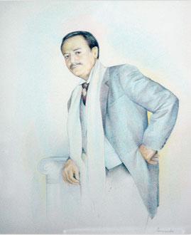Портрет Ю. Соломина