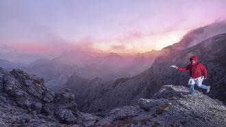 Sunrise Gesäuse