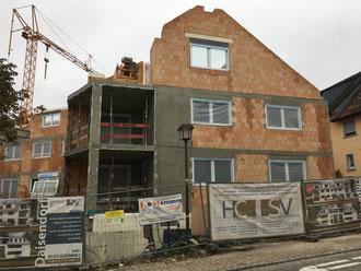Baufortschritt vom 04.10.2018