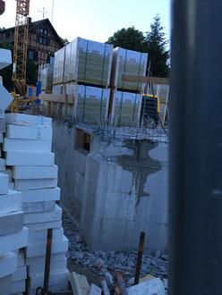 Baufortschritt vom 14.06.2018