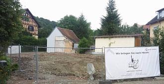 Bauphase 1: Abschluss des Abrissverfahrens; Stand: 21.07.2017
