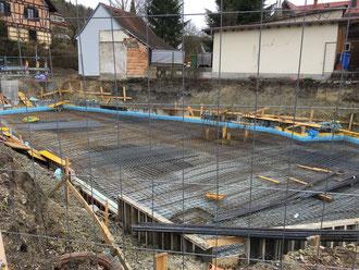 Baufortschritt vom 05.04.2018