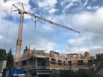 Baufortschritt vom 27.08.2018
