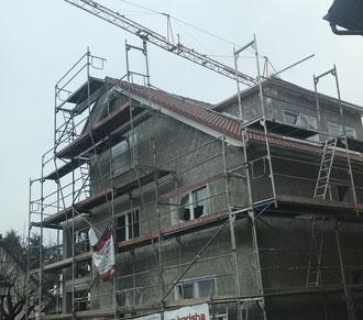 Baufortschritt vom 25.12.2018