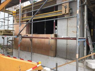 Baufortschritt vom 14.07.2018