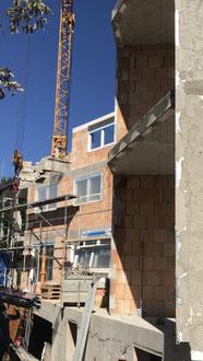 Baufortschritt vom 25.09.2018